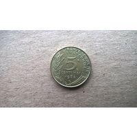 Франция 5 сантимов, 1968г. (Б-3)
