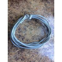 Сетевой кабель UTP5e 20 метров, не обжатый коннекторами. Компьютерный провод для подключения интернета к телевизору ByFly SmartTV, для компьютерной сети, для ПК, Смарт ТВ, видеонаблюдения. 8-жил 4-пар