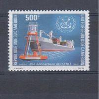 [686] Камерун 1983. Корабль,маяк.