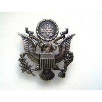 США. Кокарда на парадную фуражку офицерского состава ВВС. Размер - 5 / 6.5 см