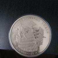 КМ#1173 о. Кука 1 доллар 2005 г Олимпиада