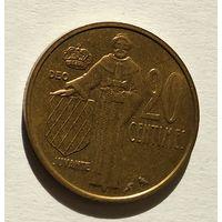 Монако 20 франков, 1962 5-5-16