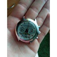 Часы СССР штурманские хронограф 3133, распродажа с рубля