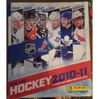 Альбом для наклеек PANINI NHL 2010-2011