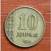 Таджикистан, 10 дирамов 2011