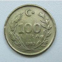 Турция 100 лир 1989