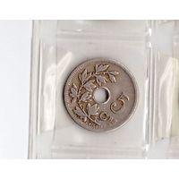 5 сантимов 1904 Бельгия (BELGIQUE). Возможен обмен
