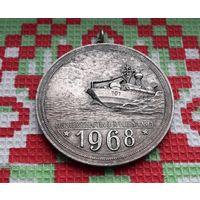 Германия, ГДР 1968 года. Соревнование Военно-морской флота. Боевая Кригсмарина. Большая! Тяжелая!