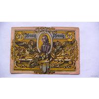 Германия Нотгельд 50 пфенинг  No02701 распродажа