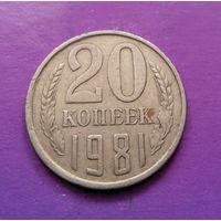 20 копеек 1981 СССР #10