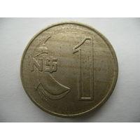 1 песо 1980 Уругвай