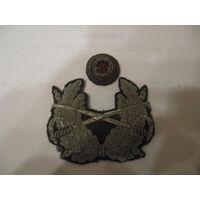 Пехотная кокарда Бундесвера (серебр шитье)
