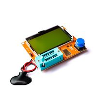 LCR Mega328 транзистор тестер диод триод ESR измеритель емкости индуктивности и пр.