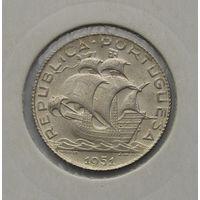 Португалия 2.5 эскудо 1951 UNC! Очень красивая монетка!