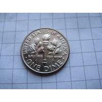 США 10 ЦЕНТОВ 2002 ГОД D