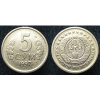 W: Узбекистан 5 сум 1997 (29)