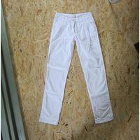 Белые летние брюки F&F, р.40-42