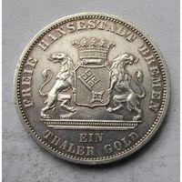Германия, Бремен, талер, 1871, серебро, победный
