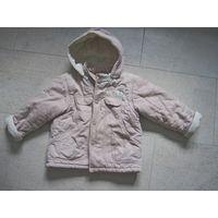 Куртка и штаны вельветовые деми 86-92 унисекс