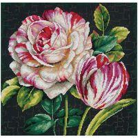 Набор для вышивки крестом Tulip Drama 70-35314 / Тюльпаны Dimensions (США)