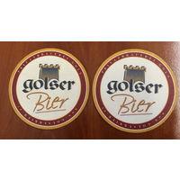 Подставка под пиво Golser Bier /Австрия/