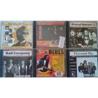 MP3 диски зарубежного рока (Bon Jovi, Procol Harum и др.)
