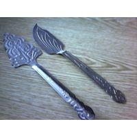 Комплект- нож и лопатка для сервировки стола СССР