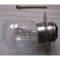 Лампа накаливания автомобильная А12-60+40, 12В 60+40 Вт