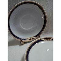 Блюдце,Добрушский фарфоровый з-д 1978-91гг(цена  за 1ед) ,лот 3