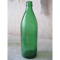 """Красивая пивная бутылка """"200 ЛЕТ СТАВРОПОЛЮ"""". СССР, 1977 год."""