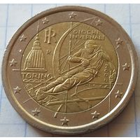 Италия 2 евро, 2006 XX зимние Олимпийские Игры, Турин 2006      ( 4-4-2 )