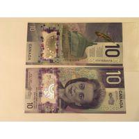 Канада 10 долларов Виола Дезмонд