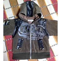 Фирменная куртка на весну-осень (4-5 лет)