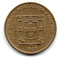 Колония  Макао. 10 АВО 1983.