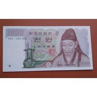 Банкнота 1000 вон  Корея 1983 г.