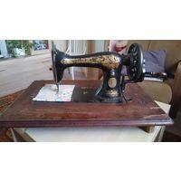 """Швейная машинка """"SINGER"""", рабочая, год выпуска 1901, Шотландия"""