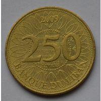 Ливан, 250 ливров 2009 г.