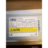 Блок питания 500 ват вентилятор 140мм б/у рабочий не ремонтировался не разбирался