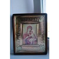 """Икона """"Богородица Мария с Младенцем"""" 34 см х 28 см"""