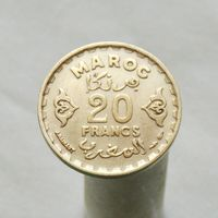 Марокко 20 франков 1951