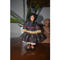 Кукла коллекционная, Перу 1960е, 21 см