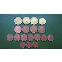 1.07 Евро центов список внутри.