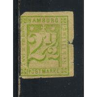 Гамбург Германия 1864 Стандарт  *..