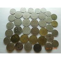 Погодовка хороших монет СССР до 1961 г. ( 38 шт. , без повторов , хороший сохран , есть в штемпельном блеске ) всё вместе , распродажа с 1 - го рубля , без минимальной цены ! Только на 3 дня !!!