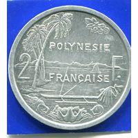 Французская Полинезия 2 франка 1999