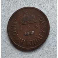 Венгрия 2 филлера, 1938 1-1-30