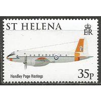 Остров Св. Елены. 90 лет Королевским ВВС. 2008г. St#1043.