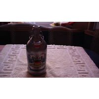 Бутылка Немецкая с ручкой и пробкой. распродажа