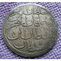 Османская империя. 2 золота 1774 г. Абдул Гамид (1774-1789 г.) 27 грамм.