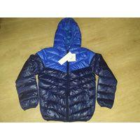 Новая куртка деми на рост 128-134